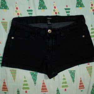 ⚡3/$20⚡ Black denim jeans short shorts